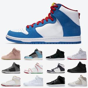 nike sb dunk high Doraemon plataforma mujer hombre zapatos casuales hi prm lx espectro bred mulder brian barroco marrón patineta para hombre entrenador zapatillas deportivas