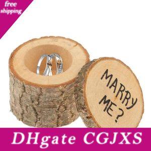Wedding Ring Bearer Scatola Diy boxex Carino piccolo regalo Box Novel Holiaday partito regalo Wy439