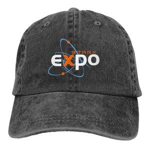 Boné de beisebol Stark Expo chapéu de vaqueiro tampão repicado Marvel Homem de Ferro Chapéus