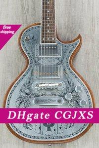 Custom Shop Zemaitis C24mf Nt Casimere métal avant Guitare électrique Touche palissandre