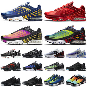 nike air max tn plus 3 chaussures de course Camo Gradient pack hommes femmes formateurs baskets de sport en plein air marche jogging