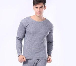 Casal inverno quente térmica underwear Thicken Velvet Long John Suits Casual amantes de algodão respirável Pijama Suit Intimate55