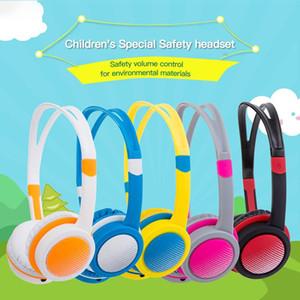 85dB 귀여운 아이 이상 귀 유선 헤드폰 안전하게 어린이 헤드셋 조절 가능한 헤드 밴드 컴퓨터 태블릿 아동 노인 4-12 이어폰