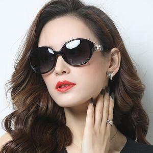 Kadın Bayanlar Yuvarlak Zarif Sürüş Gözlük Anti Evove Polarize Güneş Gözlüğü Kadınlar Moda Güneş Gözlükleri UV Protect Yansıtan
