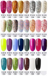 159 colors Soak Off Nail Gel Polish Nail Art Gel Lacquer Led uv Base Coat Foundation & Top coat Free shipping