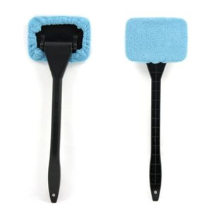 1Pcs Detachable Auto Window Brush Microfiber Car Window Dust Fog Moisture Cleaner Wash Brush Windshield Towel Cleaning Tool