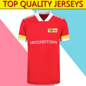 2020 2021 Union Berlin FC se dirige el fútbol rojo de los jerseys 20 21 Union Berlin FC para hombre Camisas de la camisa de fútbol de adultos futebol Correr jerseys