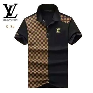 Italie Designer Polo Shirts T-shirt concepteur Marque serpent Bee62 Floral broderie Hommes Polos High Street Fashion Stripe Imprimer Polo T-shirts FF