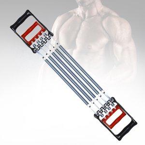 Dayanıklı Gym 5 Bahar Ayarlanabilir Fitness Genişletici Fonksiyonlu Göğüs Çekme