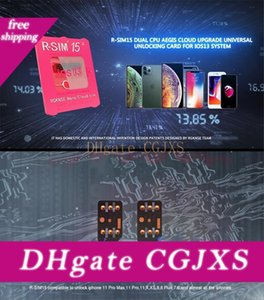 Модернизированный R -Sim15 RSIM 15 Dual Nano Unlock Ios13 карты для Iphone 11 Pro X Max 8 7 6