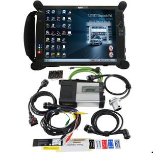 MB SD Connect C5 WIFI Star Compact 5 Диагностика для Benz Автовозы + Новый EVG7 Диагностическое Tablet полное программное обеспечение V2020.6 Включено