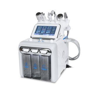 Portátil 6 em 1 H2O2 Hydra máquina Facial Oxigênio da água do Aqua Peeling Skin Care Hydrodermabrasion Hydra Microdermoabrasão máquina