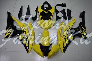 Carenados para YZFR6 2008-2015 Amarillo Negro carenados para YAMAHA YZFR6 13 12 de la motocicleta Carenado para Yamaha YZFR6 10 11
