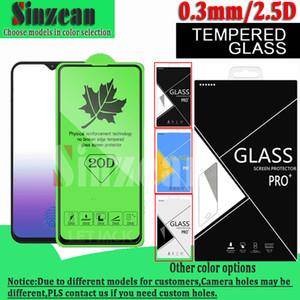 Экран 20D Полный Клей закаленное стекло протектор для Xiaomi 9SE / редми Примечание 7 / Xiaomi 8SE / Xiaomi 9Т Pro / Xiaomi 9X в картонной коробке