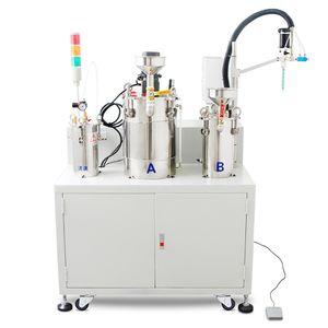 AB eléctrico agitación doble líquido máquina de rellenar la resina de epoxy Dimensionamiento cuantitativa Equipo de distribución automática de encolado