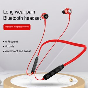 New Wireless Bluetooth Earphone Magnetic Suction HiFi Sound Quality Stereo Headset Waterproof Wireless Sports Earbud with HD Mic