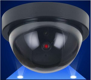 Dummy Fake Camera Simulated Security Video CCTV Surveillance Fake Dummy Ir Led Dome Camera Round Signal Generator Security Supplies LSK808