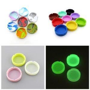 19 stili Posacenere silicone rotonda creativa silicone Posacenere Anti-shock di fumo Ash Tray Fashion Hotel Ambientale casa KTV Posacenere FWC1056