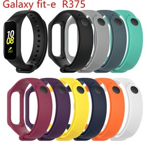 Cgjxs Silikon-Uhrenarmband-Handgelenk-Band-Bügel für Samsung Galaxy Fit -E R375 Smart-Armband-Uhrenarmband Zubehör