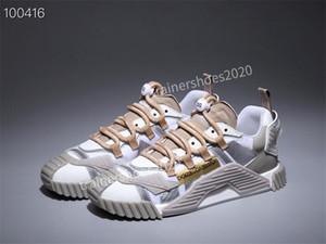 Dolce&Gabbana Donne degli uomini Scarpe moda Chaussures versano scarpe Femmes Leggero sport respirabili scappare Sneaker in vendita ml200806