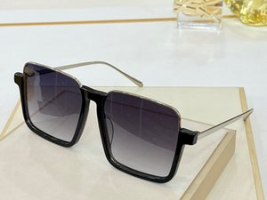 4290 Womens Sunglasses Grande cornice quadrata in metallo Vetri affascinante anti-UV400 occhiali lenti per il tempo libero stile elegante con ca