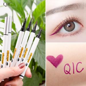 em estoque! finas atacado Dropshipping QIC Marca extrema Colorido Eyeliner Waterproof Eye Liner Pencil Pen beleza ferramentas de maquiagem