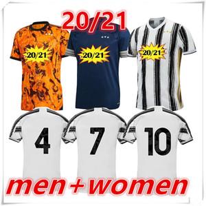 2020 2021 camiseta de la juventus mens womens Soccer Jersey DYBALA RONALDO Football Shirt 20 21 Juventus hombres mujer Camisetas de fútbol camiseta de fútbol jerseys