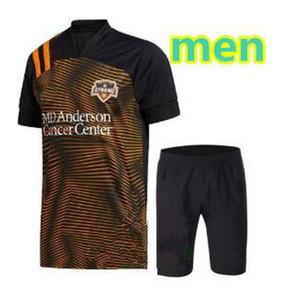 2020 Houston Dynamo Soccer Jersey 20 21 MLS # 7 ELIS Manotas Kit adulte uniforme Dynamo # 13 RAMIREZ DARWIN Chemises JR Football