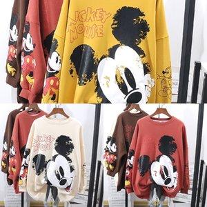 dRhxQ KCsTv Top Sweater Underwear début All-Match et l'automne 2020 au printemps mince ins mode loose style coréen de style paresseux bf femmes chics