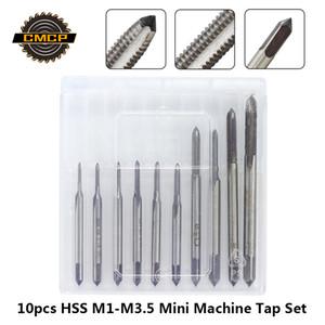 HSS M1 M1.2 M1.4 M1.6 M1.7 M1.8 M2 M2.5 Livraison gratuite M3 M3.5 Mini Tap Mèche machine de filetage métrique Tap vis de serrage