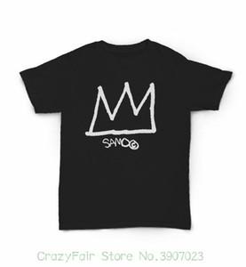 Samo & Jean - Michel Basquiat Crown And Tag T Shirt - Art Nyc Street Art 1980s 2020 New Arrival Men