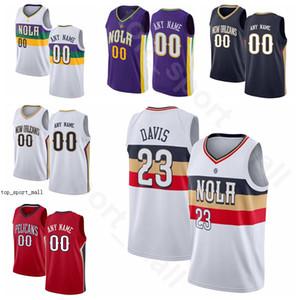 Print Screen Basketball Zion Jrue Holiday Jerseys Brandon Ingram Lonzo Bola JJ Redick Moore Cidade Fim Ganhou Edição