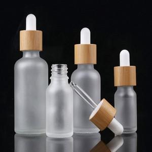 10 ml 15 ml 20 ml 30 ml 50 ml 100 ml Mattglas Tropfflasche Ölflasche Mit Bambus Essence In Mattglas Caithness Parfümflaschen jjoS #