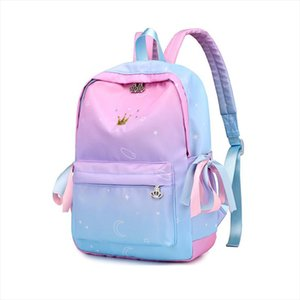Starry sky Backpacks For Girls School Children Schoolbags Primary School Book Bag School Bags Printing Backpack Sac Ecolier Pink