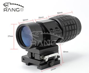 Tactical 3x Magnifier Scope With QD Mount In Black