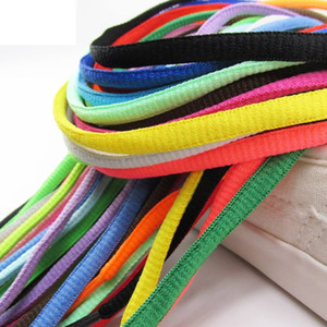 new fashion extra shoeslaces for sports outdoor mens women running shoes black white green multiple colour top quality laces
