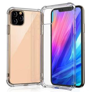cgjxs super design clair doux Tpu Cas de téléphone pour Iphone 11 Pro Max Xs Max Xr antichocs Retour couverture transparente anti -Knock pour iPhone