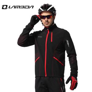 따뜻한 자전거 자전거 의류 긴 소매 재킷 바지 세트 스포츠 정장 방풍 의류 남성 자전거 겨울 자전거 jeresy 세트
