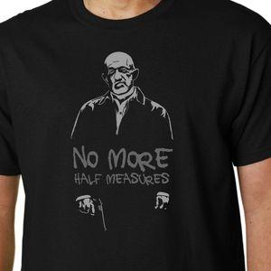 No More Yarım Tişört Mike Ehrmantraut Breaking Bad Better Call Saul 2019 Yeni Marka Serin Tişörtlü Casual T-Shirt Tedbirleri