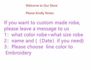 robes de conception Jrmissli personnalité personnalisée demoiselles d'honneur et un peignoir de mariage mariée pour les robes de soie vêtements de nuit des femmes Y200425 aFrw #