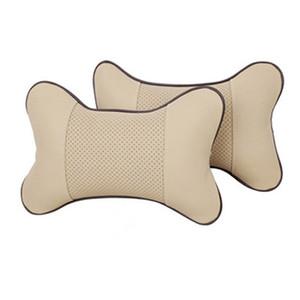 حماية العنق الرقبة الدعم وسادة استرخاء العضلات مقعد السيارة شكل وسادة البوليستر PP الإسفنج وسادة العظام
