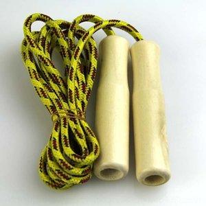 деревянные пряжи спорттоваров дети пропускающих пряж веревка Хлопок Хлопок ручка веревочного ткачество пропуск детского деревянный ручка vYGPY