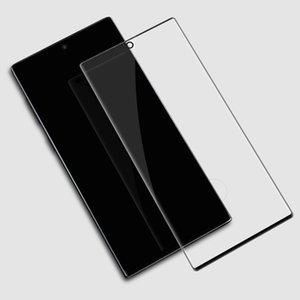 Pour Samsung Galaxy Note20 Ultra S20 en verre trempé 3D 9H pleine couverture courbe Protecteur d'écran anti-rayures Film Guard pour S20 + S10 + note10 +