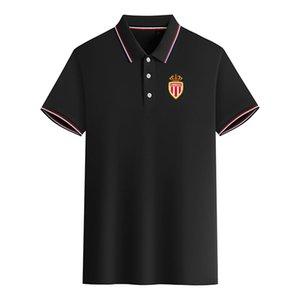 Ассоциация Sportive 2020 Монако резвится короткий рукав мужских случайных лето новых рубашки поло большого размер может быть DIY модных мужского поло