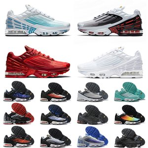 2020 New Quality Tuned Plus III Tn 3 Laser Blue Crimson Red Mens Women Running Shoes All White Deep Royal Topaz Trainers Sneakers