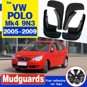 für Volkswagen VW Polo 9N3 Mk4 2005 ~ 2009 Schmutzfänger Schmutzfänger Flap Spritzschutz Kotflügel Car Fender Front Rear 2006 2007 2008