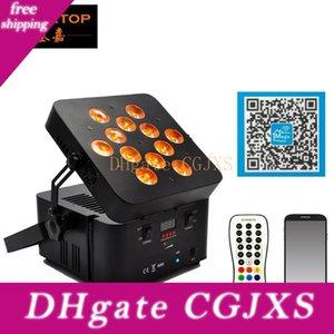 Guangzhou Tiptop Led Wireless-Akku-Gleichheits-Licht 12x15w RGBWA 5 in 1 Freedom Par Entwurf DMX512 drahtloser Fernbedienung Tyanshine