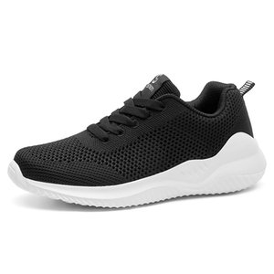 VEAMORS donne comode mesh traspirante luce Walking Shoes Lace Up antiscivolo femminili Sneakers walking outdoor Resistente