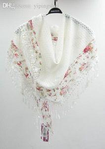 Prix usine de gros prix de gros écharpe dentelle dame femmes femmes de mode grand châle foulards Loisirs