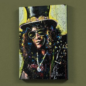 "David Garibaldi ""Slash (1)"" Home Decoratin Handpainted &HD Print Oil Painting On Canvas Wall Art Canvas Pictures For Living Room 200923"